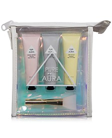 Pure Aura 4-Pc. Essential Peel-Off Mask Travel Set