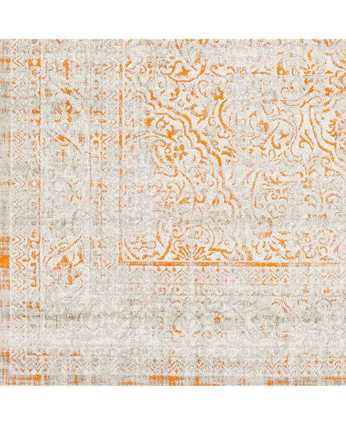 "Surya Jax JAX-5036 Bright Orange 18"" Square Swatch"
