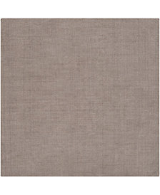 "Surya Mystique M-266 Medium Gray 9'9"" Square Area Rug"