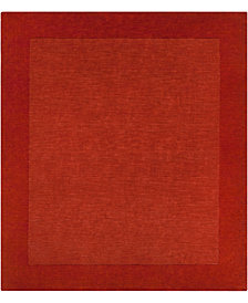 Surya Mystique M-300 Burnt Orange 8' Square Area Rug