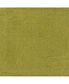 "Surya Mystique M-337 Lime 18"" Square Swatch"