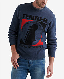 Lucky Brand Men's Fender Graphic Sweater