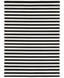 "Horizon HRZ-1082 Black 9'3"" x 12'6"" Area Rug"