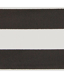 "Surya Horizon HRZ-1089 Black 18"" Square Swatch"