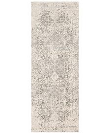 "Surya Harput HAP-1024 Gray 2'7"" x 12' Area Rug"
