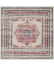 "Surya Harput HAP-1033 Garnet 6'7"" Square Area Rug"