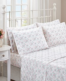 Floral Comfort Wash Cotton Sheet Sets