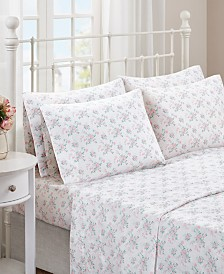 Madison Park Floral Comfort Wash Cotton Sheet Sets