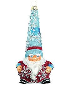 Joy To The World Glitterazzi Gnome Snow Gnome Wintery Santa