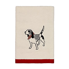 CLOSEOUT! Avanti Happy Pawlidays Hand Towel