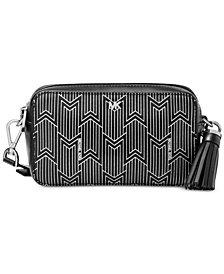 MICHAEL Michael Kors Metallic Deco Small Camera Bag