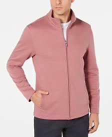 Alfani Men's Textured Zip-Front Jacket, Created for Macy's