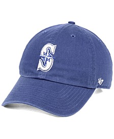 Seattle Mariners Timber Blue CLEAN UP Strapback Cap