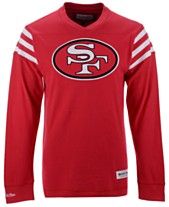 ae4f88f59 Mitchell   Ness Men s San Francisco 49ers Team Captain V-Neck Long Sleeve  ...