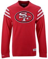 c2eb8eab5 Mitchell & Ness Men's San Francisco 49ers Team Captain V-Neck Long Sleeve  ...