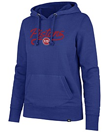 Women's Detroit Pistons Clean Sweep Headline Hoodie