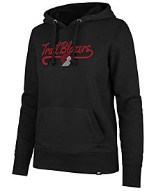 '47 Brand Women's Portland Trail Blazers Clean Sweep Headline Hoodie