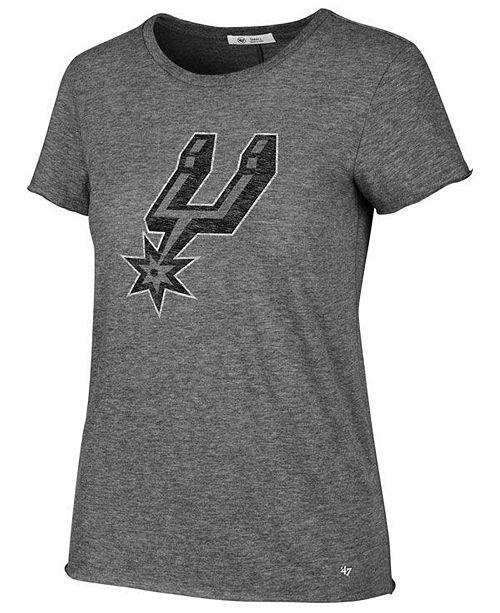 '47 Brand Women's San Antonio Spurs Letter T-Shirt