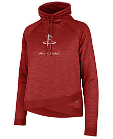 '47 Brand Women's Houston Rockets Commuter Funnelneck Sweatshirt