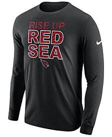 Nike Men's Arizona Cardinals Dri-FIT Cotton Local Long Sleeve T-Shirt