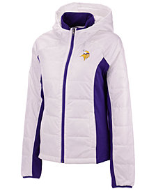 G-III Sports Women's Minnesota Vikings Defense Polyfill Jacket