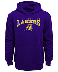 Outerstuff Los Angeles Lakers Fleece Hoodie, Big Boys (8-20)