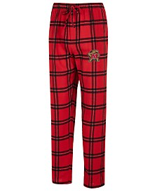 Concepts Sport Men's Maryland Terrapins Homestretch Flannel Pajama Pants