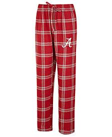 Concepts Sport Men's Alabama Crimson Tide Homestretch Flannel Pajama Pants