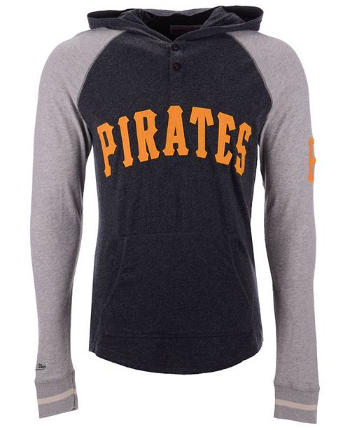 90bfe8fab Mitchell   Ness Men s Pittsburgh Pirates Slugfest Lightweight Hooded ...