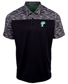 Antigua Men's Tulane Green Wave Final Play Polo