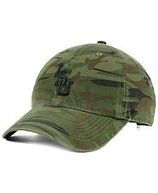804ca69cafe 47 Brand Wisconsin Badgers Regiment CLEAN UP Strapback Cap - Sports ...