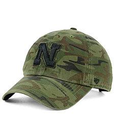 '47 Brand Nebraska Cornhuskers Regiment CLEAN UP Strapback Cap