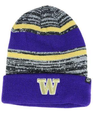 245f44e8fc5f4 Zephyr Washington Huskies Slush Cuff Knit Hat - Sports Fan Shop By Lids -  Men - Macy s