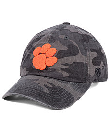 Top of the World Clemson Tigers Woodland Knight Strapback Cap