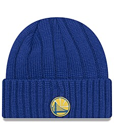 Golden State Warriors Metal Cuffed Knit Hat