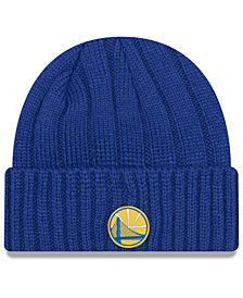 New Era Golden State Warriors Metal Cuffed Knit Hat