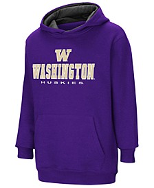 Washington Huskies Pullover Hooded Sweatshirt, Big Boys (8-20)