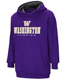 Washington Huskies Pullover Hooded Sweatshirt, Big Boys (8-20)