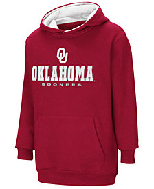 Colosseum Oklahoma Sooners Pullover Hooded Sweatshirt, Big Boys (8-20)