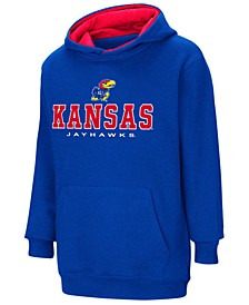 Kansas Jayhawks Pullover Hooded Sweatshirt, Big Boys (8-20)