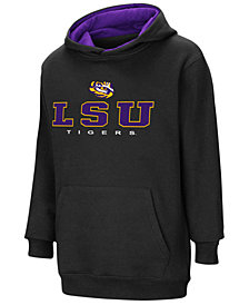 Colosseum LSU Tigers Pullover Hooded Sweatshirt, Big Boys (8-20)