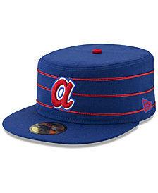 New Era Atlanta Braves Pillbox 59FIFTY-FITTED Cap