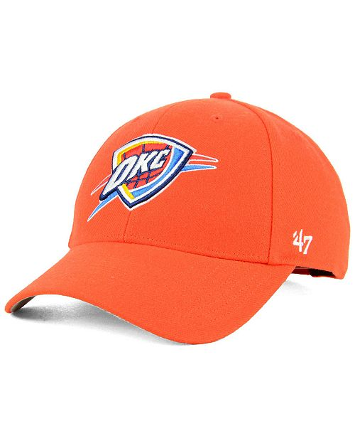 online store 9643f 95a40 Oklahoma City Thunder Team Color MVP Cap