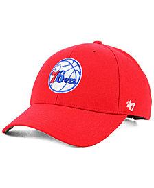'47 Brand Philadelphia 76ers Team Color MVP Cap