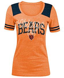 5th & Ocean Women's Chicago Bears Sleeve Stripe T-Shirt