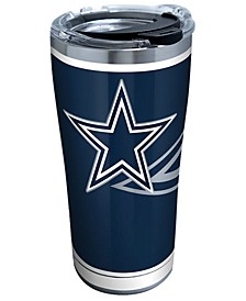 Dallas Cowboys 20oz Rush Stainless Steel Tumbler