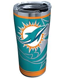 Miami Dolphins 20oz Rush Stainless Steel Tumbler