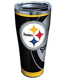 Pittsburgh Steelers 30oz Rush Stainless Steel Tumbler