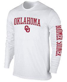 Colosseum Men's Oklahoma Sooners Midsize Slogan Long Sleeve T-Shirt