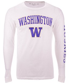 Colosseum Men's Washington Huskies Midsize Slogan Long Sleeve T-Shirt